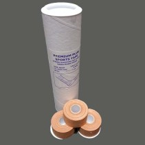 Premium Plus Rigid Sports Tape (Tube of 8 Rolls) Rehabzone Singapore