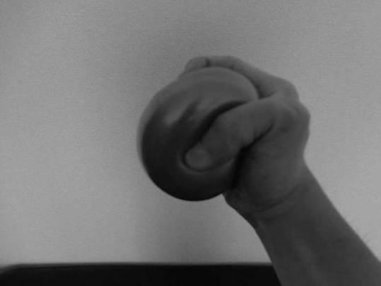 Ball-hand-grip