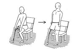 下肢切断の生活指導⑥