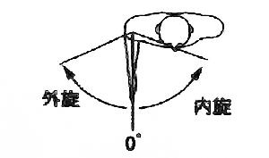 肩関節内旋・外旋の関節可動域(正常値)