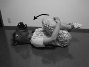 体幹屈曲運動,腰痛,腰椎後彎