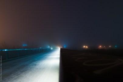 Nebel am Schwedter Stieg
