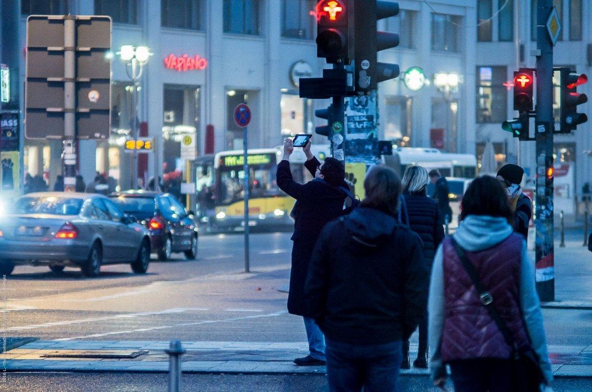 Streetphotography Potsdamer Platz