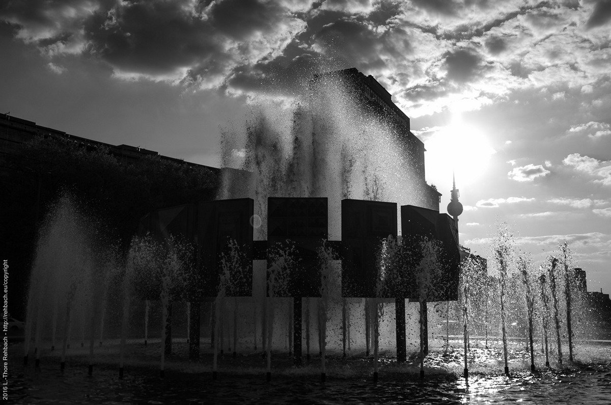 Brunnen am Strausberger Platz