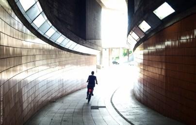 Fahrradtunnel am ICC