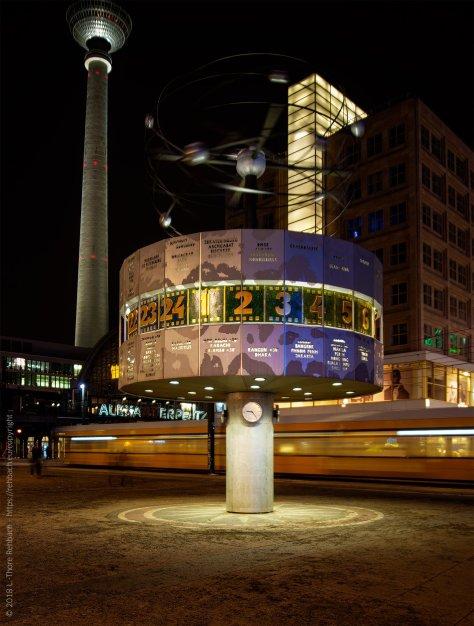 Weltzeituhr Alexanderplatz Berlin