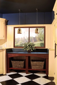 Wood windows are classic.