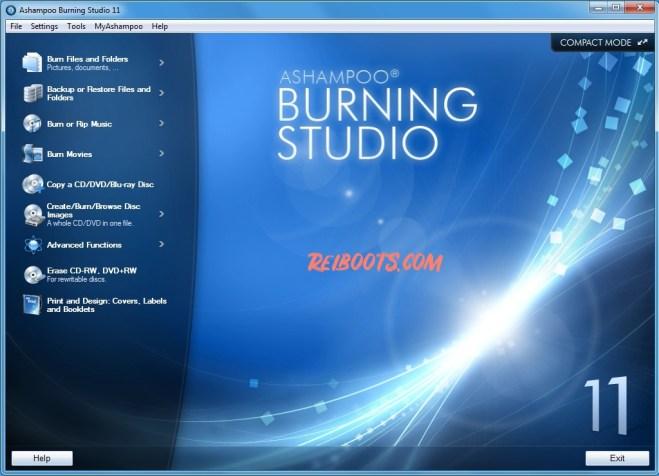 Ashampoo Burning Studio 20.0.4 Crack With License Key Here!