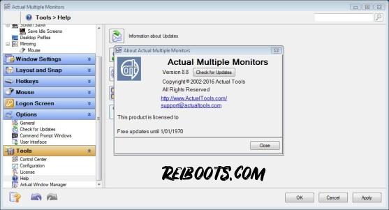 Actual Multiple Monitors 8.14.3 Crack + License key 2020