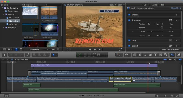 Final Cut Pro 10.4.8 Crack Full Version With Serial Number [MAC &WIN]