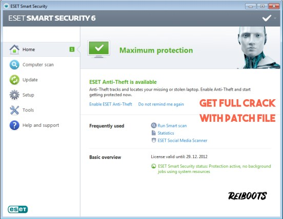 ESET Internet Security 12.1.34.0 License Key Full Version With Patch