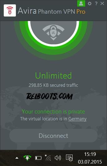 Avira Phantom VPN Pro 2.21.2.31481 Full Crack [Updated] Torrent Key