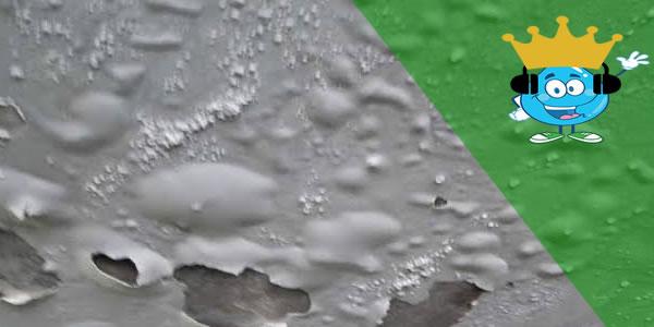 Vazamento de água residencial