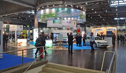 Gemeinschaftsstand der Stadt Leipzig und 22 Unternehmen des Netzwerkes Energie und Umwelt (NEU e. V.) auf der der TerraTec/enertec 2015
