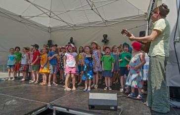 Der Chor & Tanzclub der Schule 5