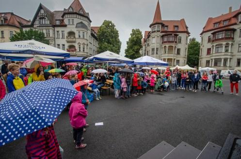 Publikum beim 26. Großen Funkenburgfest; Foto: Andreas Reichelt