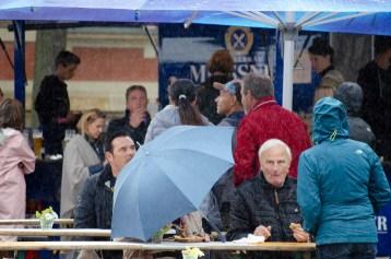 Gite Laune trotz schlechten Wetters; Foto: Andreas Reichelt