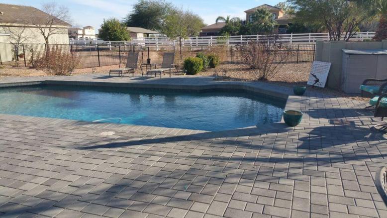Semi Private Pool and Patio