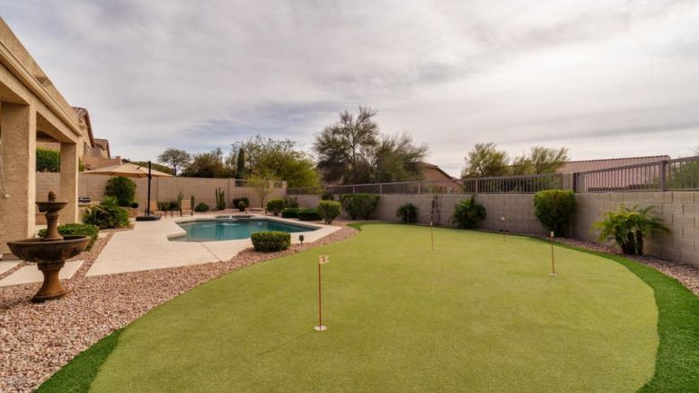 Put Put Green Backyard