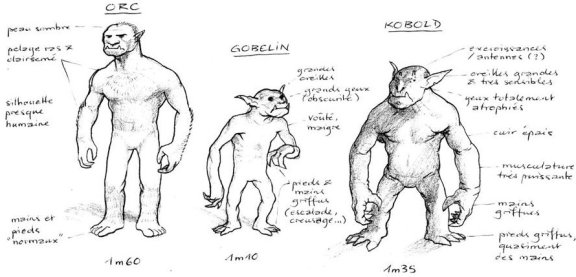 Orcs Gobelins Kobolds