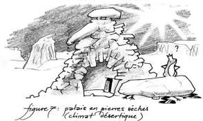Palais de rongeux en pierres