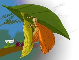Le Papillon et le cocon : l'aide qui affaiblit, l'épreuve qui renforce. (version colorisée)