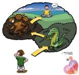 Les 3 étapes de la réflexion chez l'enfant