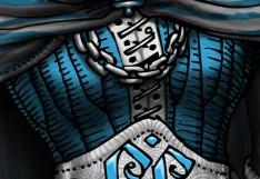 Mamy Troll : détail corset