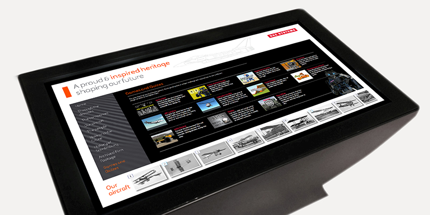 BAE Systems Touchscreen