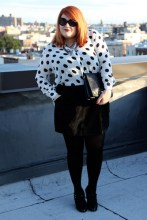 Spots to spice up a black outfit