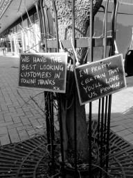 Awesome cafe signage 2