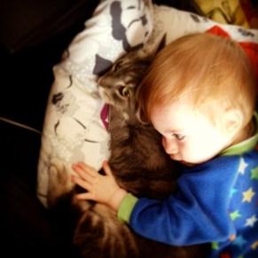 Pussin cuddles
