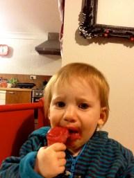 First taste of gelato