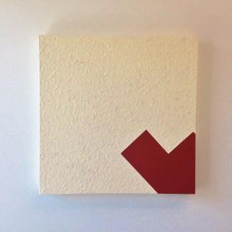 Tex Latex house paint on canvas 2 x 2 feet 2015