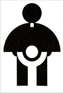 Catholic Church logo. the result of Cheap logo design