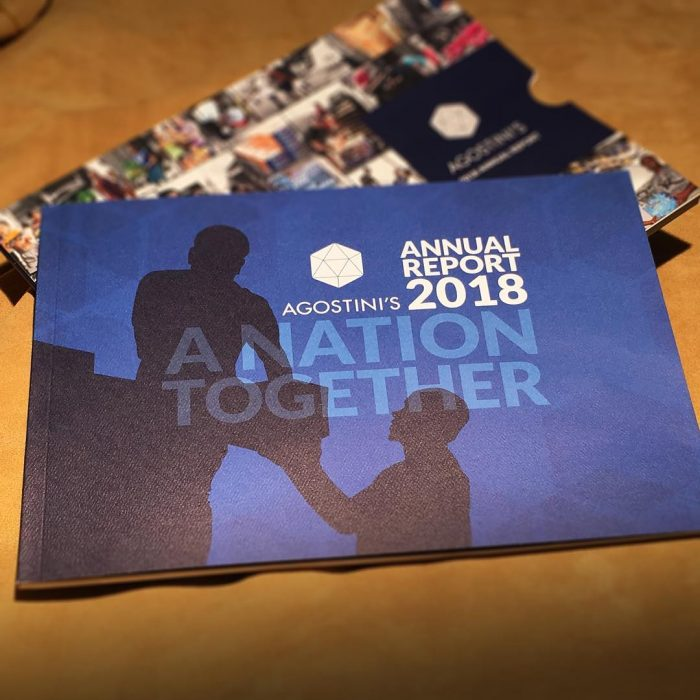 Agostini's Annual Report 2018