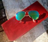 Ray Ban Metal RB3025 Aviador Espelhado Verde