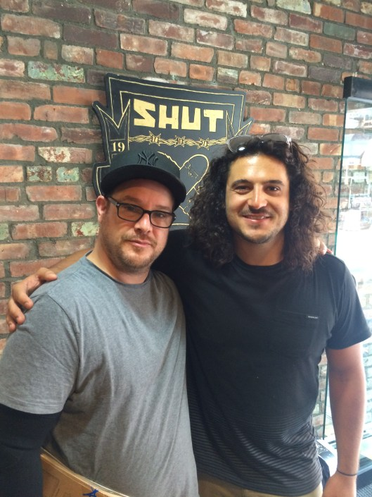 Reid with Stash