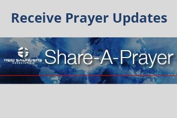 prayer page share a prayer button