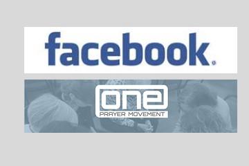 prayer page Facebook button