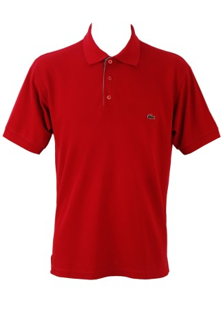 b78456a73 Lacoste Red Polo Shirt – XL