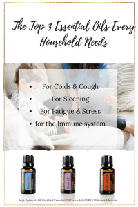 The Top 3 Essential Oils Every Household Needs