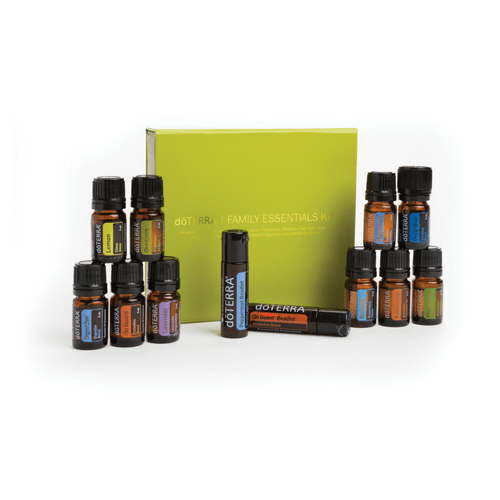 doTERRA family essentials kit and beadlets