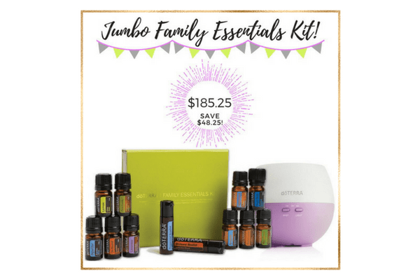 special offer - jumbo family essentials kit