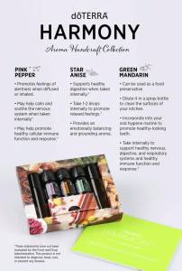 doterra harmony aroma collection - mother's day gift set