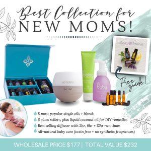 new mom natural gift set