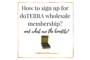 how to sign up for doterra wholesale membership