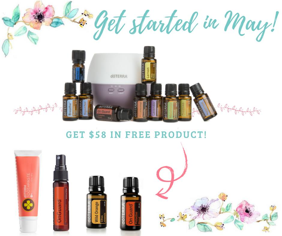 doterra may promo - home essentials kit