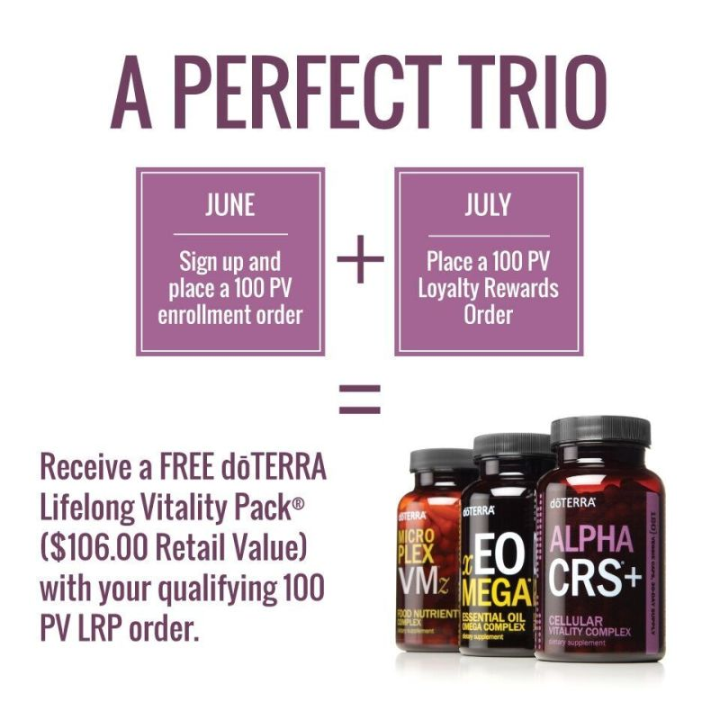 doTERRA June 2018 promotion