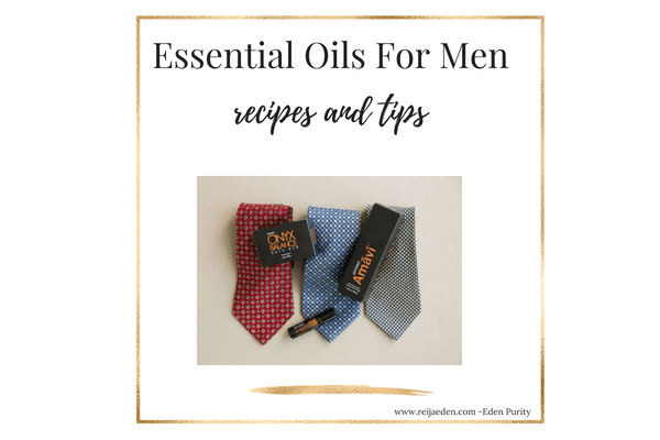 essential oils for men